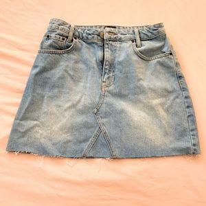 Urban Outfitters Skirts - NWOT BDG Re-Made Denim Mini Skirt